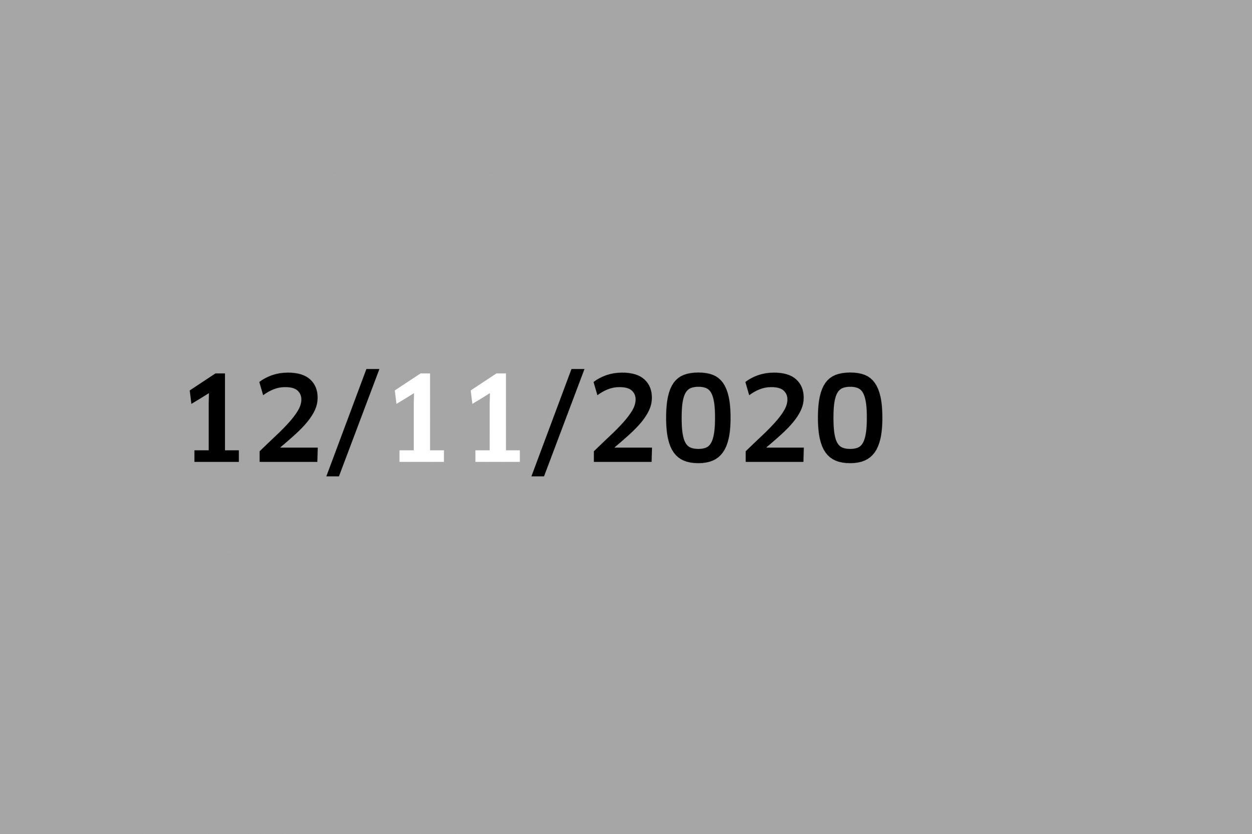 Studio 12/11/20