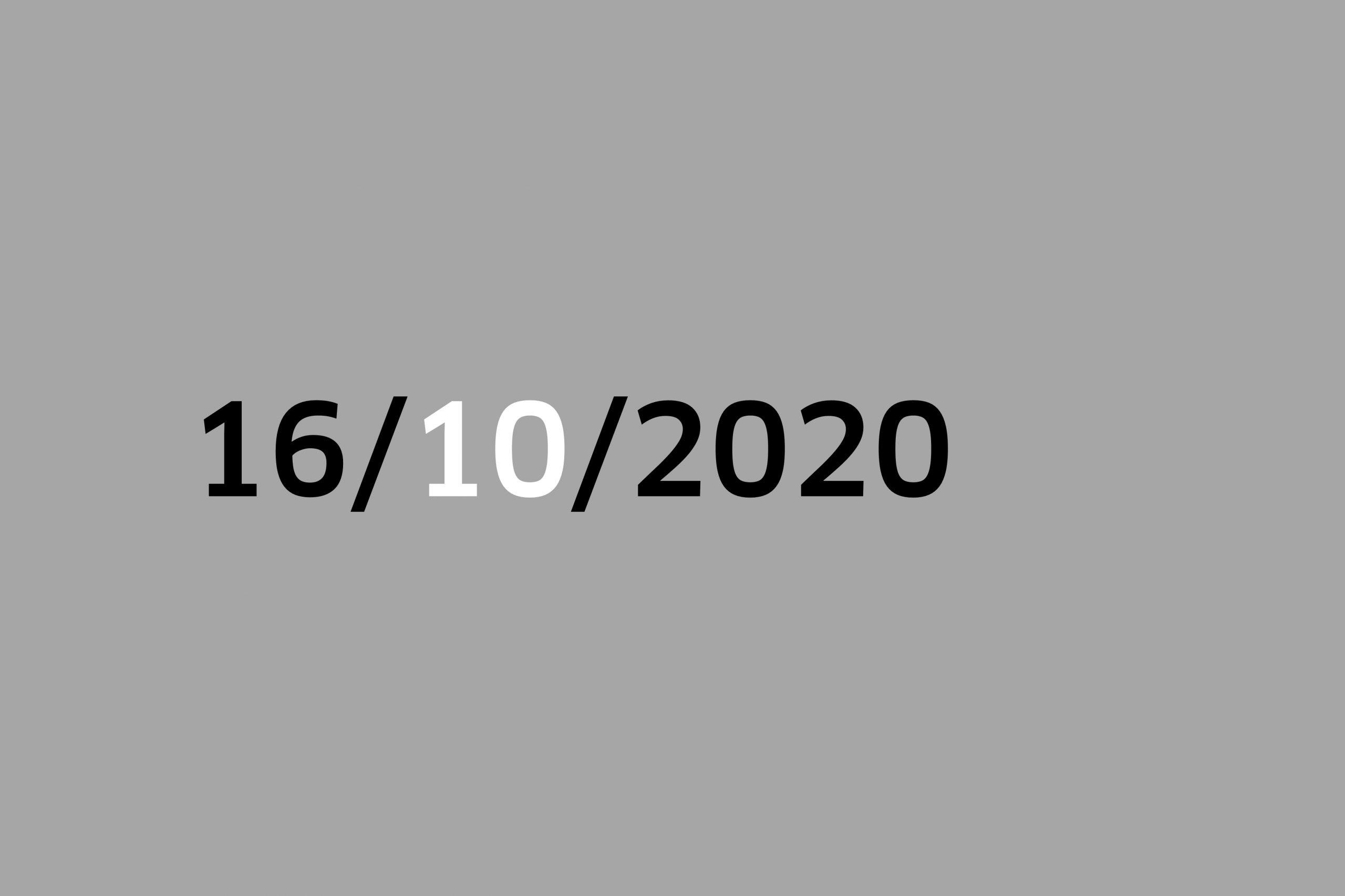 Studio 16/10/20