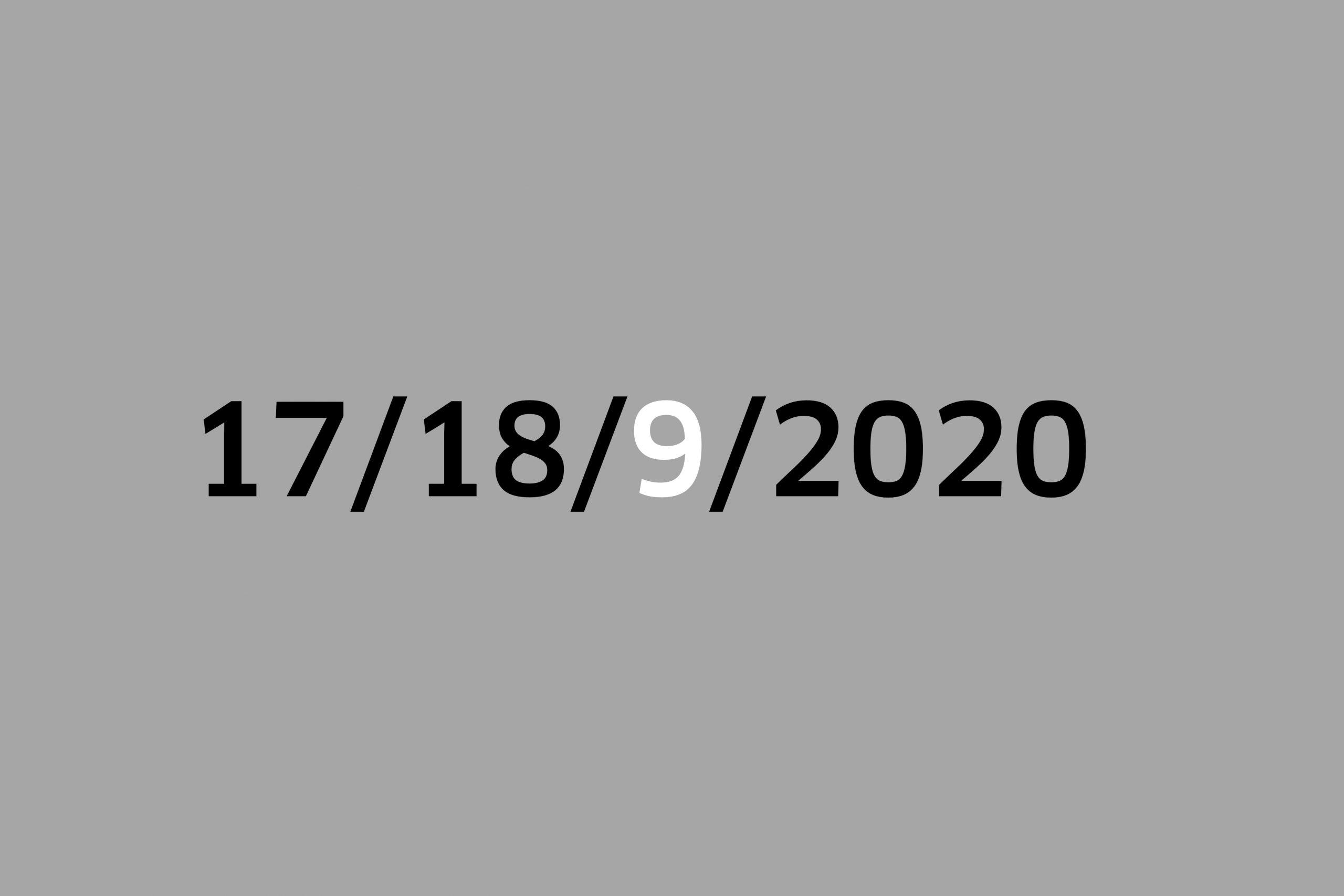 Studio 17-18/9/2020