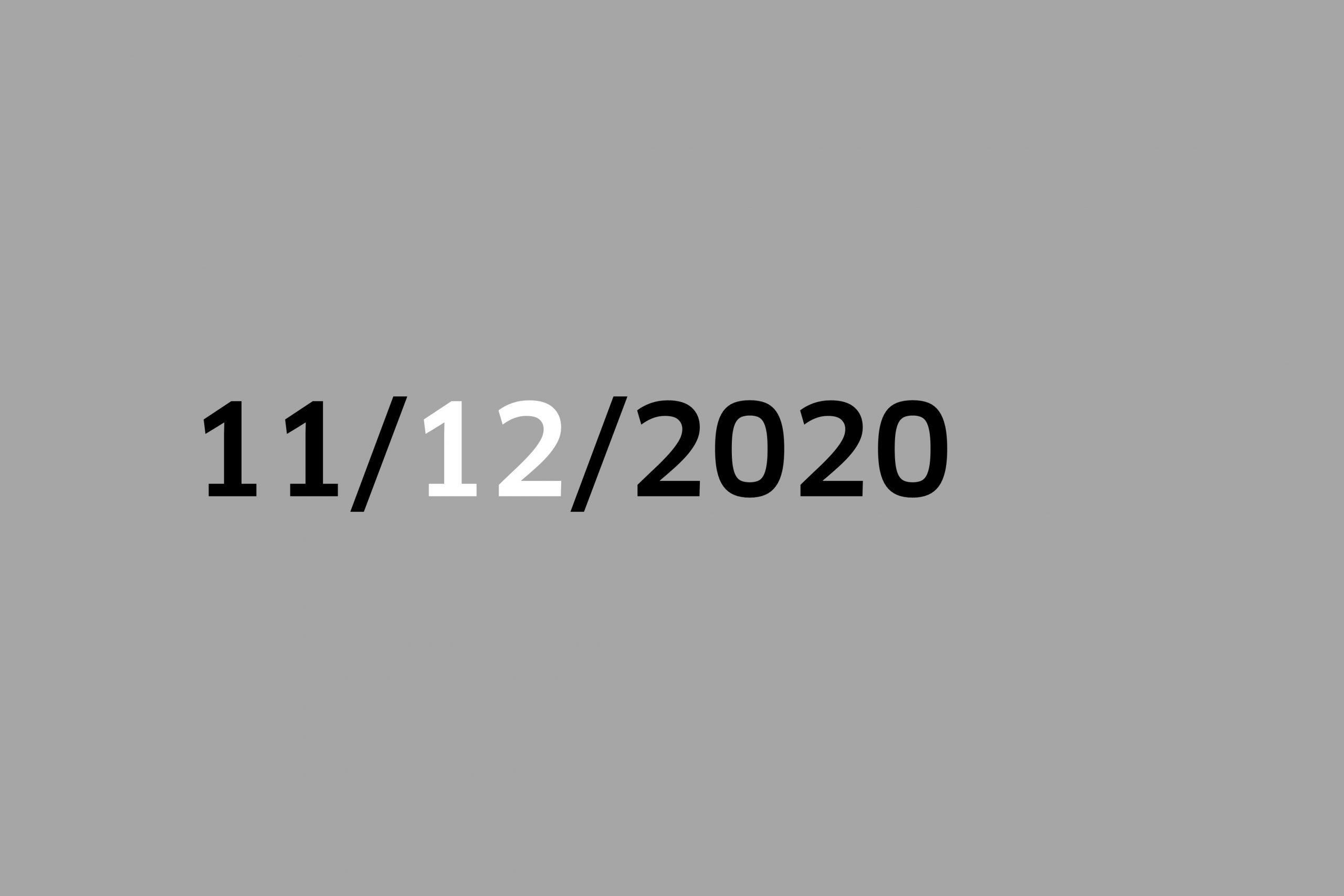 Studio 11/12/20