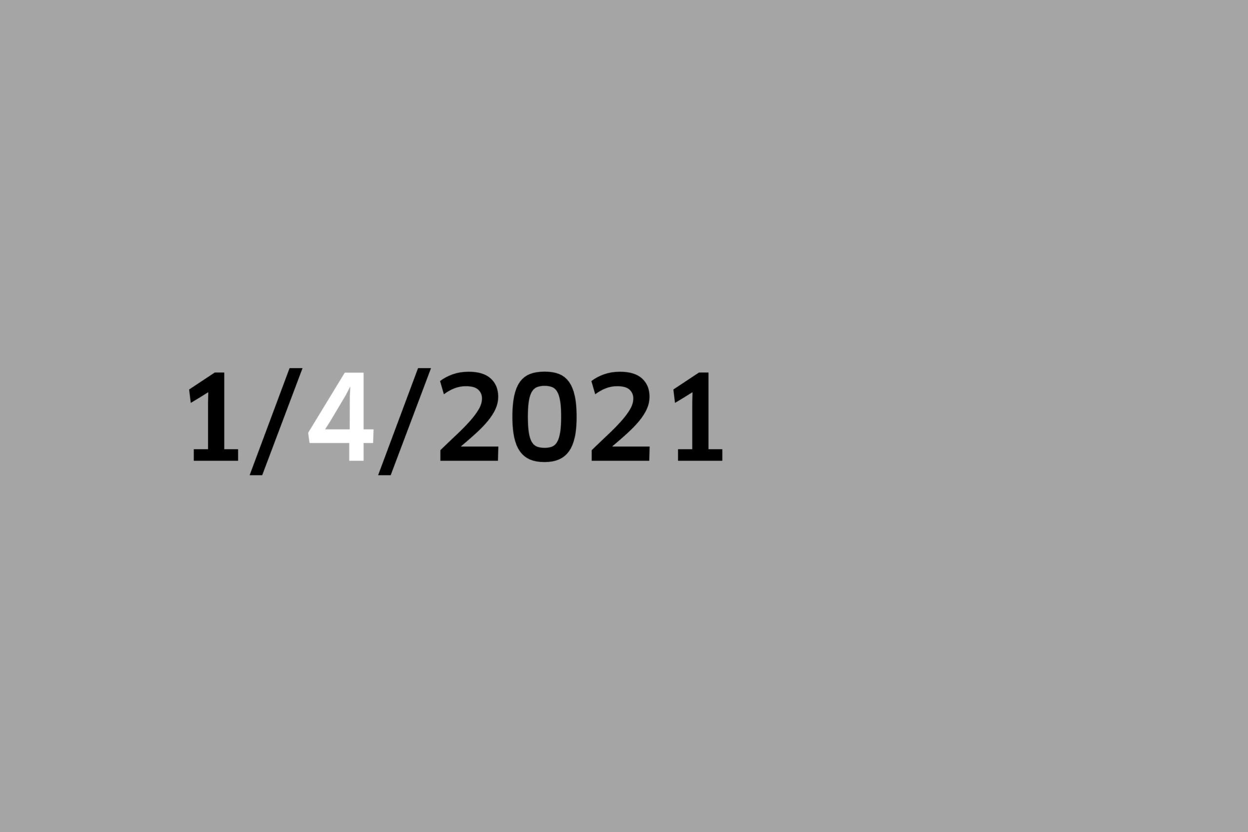 Studio 1-4-2021