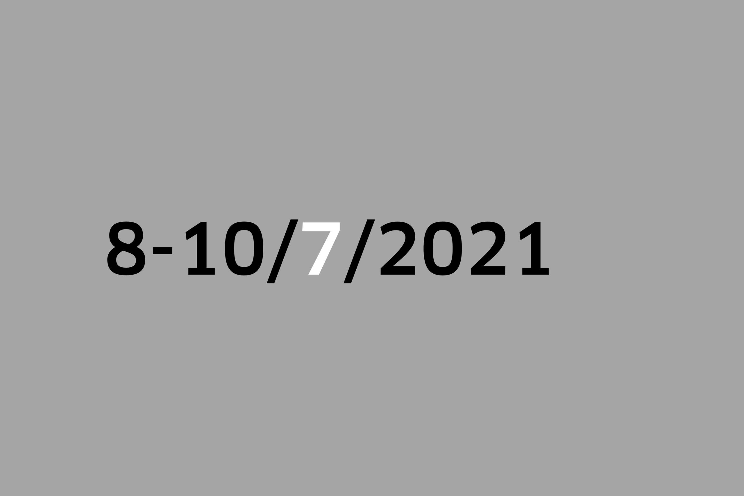 Studio 8-10/7/2021
